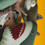 Boy Under Sharks (detail)