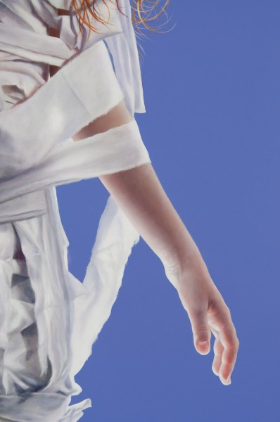 Girl Wound in White Cloth (detail)