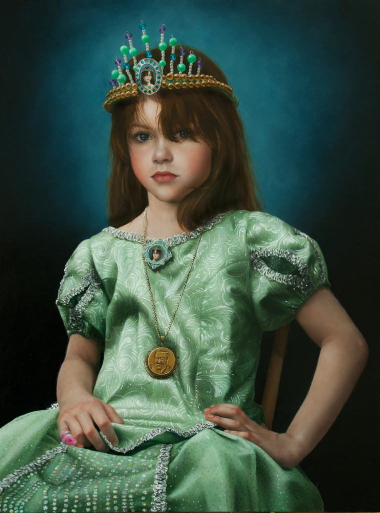 Portrait of Fair Young Fia as Licensed Royalty copyright Katie Miller 2011