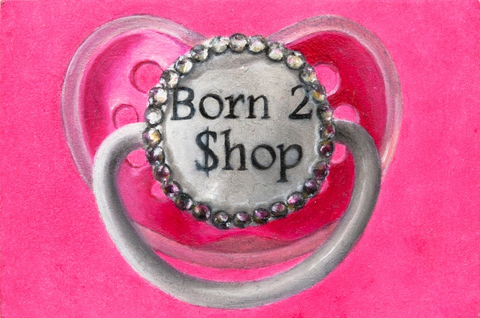 Born To Shop Pacifier Seriously Every Girl Needs This Paci