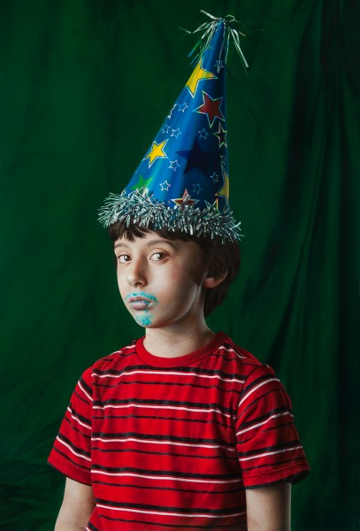 Youth in a Party Hat